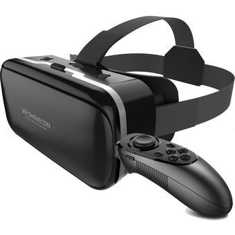 Casco de realidad virtual 3d espejo panorámico vr gafas +