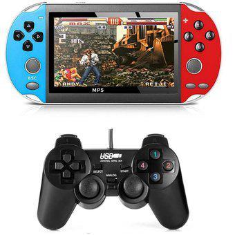 Consola de juegos mp5 x19 edición doubles +control 9000