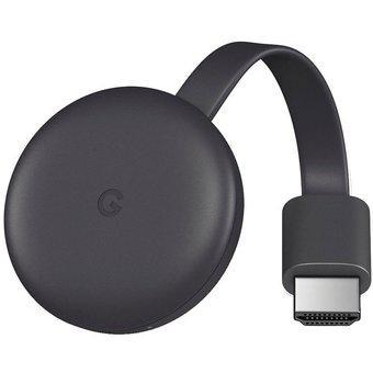 Google chromecast 3ra generación negro - convertidor a