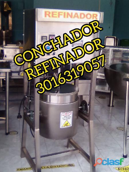 REFINADOR DESCASARILLADORA Y TOSTADORA DE CACAO