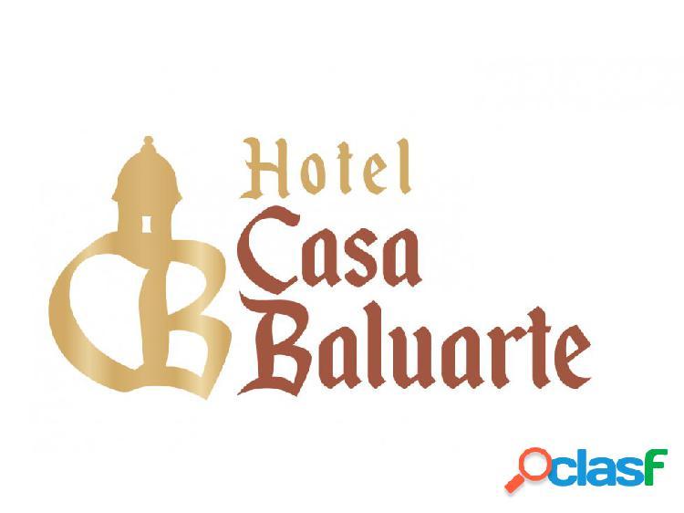 !super oferta¡ alojamiento en centro historico -hotel casa baluarte