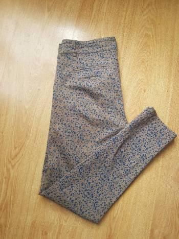 Pantalon estampado azul