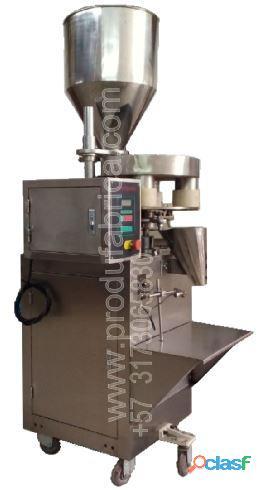 Maquina para empacar arroz y otros granos