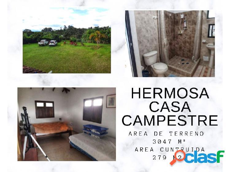 Hermosa casa campestre quimbaya 4778