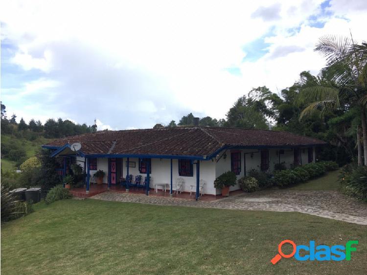 Casa campestre en venta sector quirama en carmen de viboral