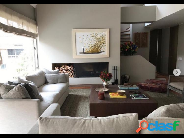 Bogta arriendo apartamento duplex chico 315 mts + terraza