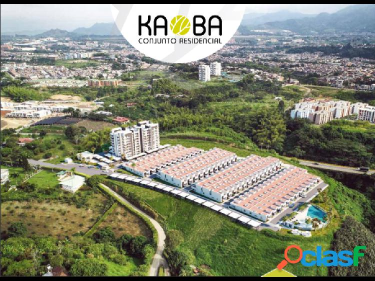 Kaoba conjunto residencial vía condina pereira, risaralda,colombia.