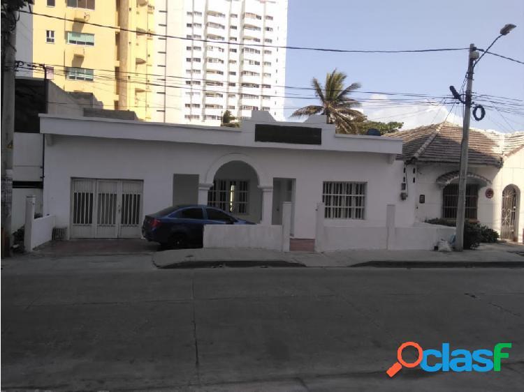 Casa lote para desarrollo de proyecto hotelero o similar en venta !