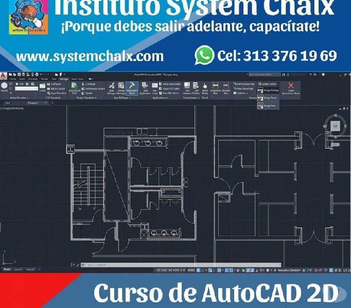 Curso de AutoCAD 2D en Villavicencio