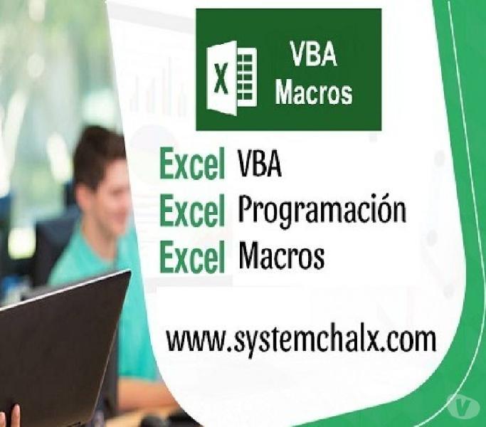 Curso de Macros en Excel en Villavicencio