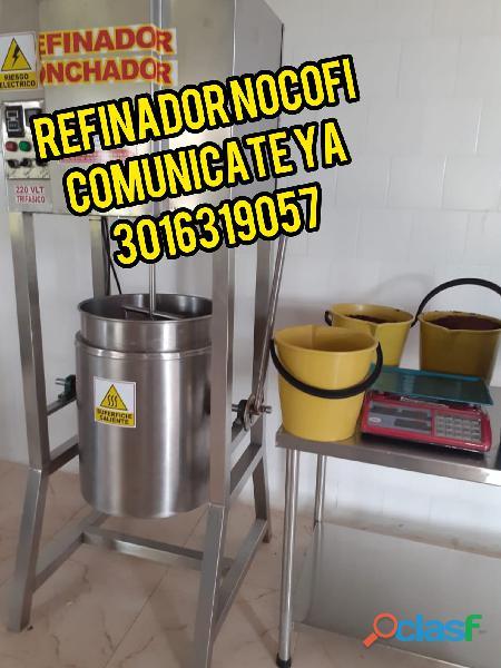 Refinador atemperador conchador y molino de cacao