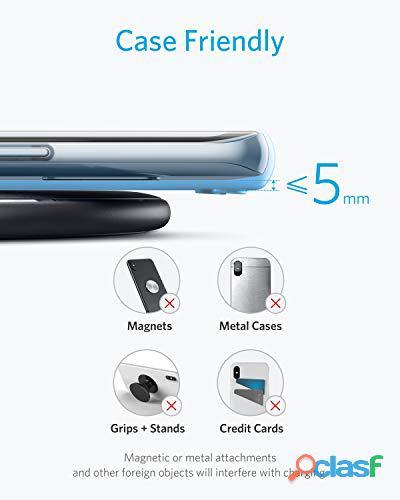 Cargador inalámbrico para Samsung, Iphone, Google Pixel 4