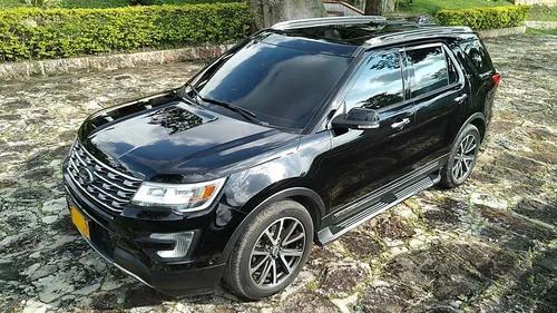 Ford Explorer Limited 2017 Negro 29000 Km Refull