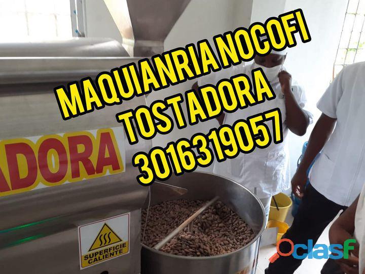 Tostadora para cacao de acero en colombia