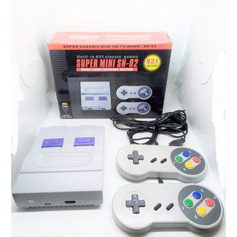 Consola super mini 821 juegos clasicos conexion hdmi sn-02