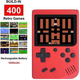 Consolas juegos retro fc de mano con 400 juegos clásicos de