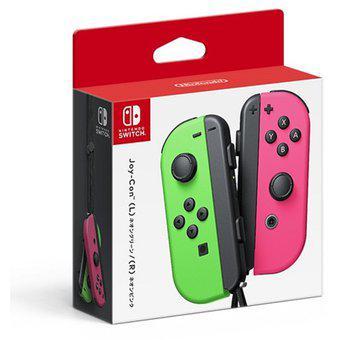 Control nintendo switch joy-con neon verde - rosa