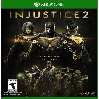 Injustice 2 legendary xbox one sellado