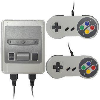 Super nintendo mini consola 620 juegos clasicos