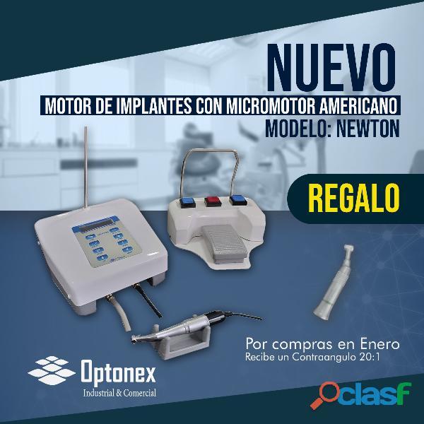 Motor para implantes newton