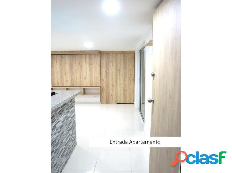 Apartamento en venta de 62 m2 en maria auxiliadora sabaneta