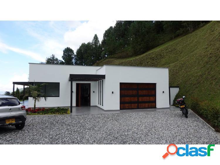 Casa campestre en Venta Chuzcal via Don diego la Ceja El Retiro