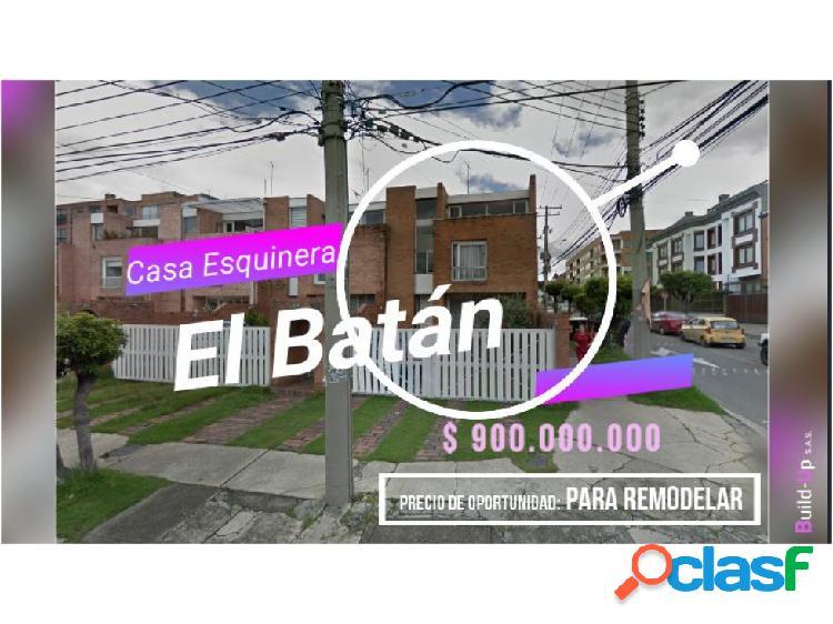 Casa esquinera barrio batán oportunidad remodelar 248 m2 permuta 40 %
