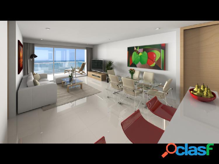 Apartamento en venta, edificio ocean life, crespo, cartagena