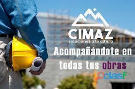 Cimaz sas   alquiler de andamios y plataformas para trabajo en altura