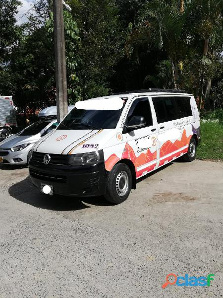 Vendo camioneta de servicio intermunicipal sin cupo volksvagen transporter t5 6