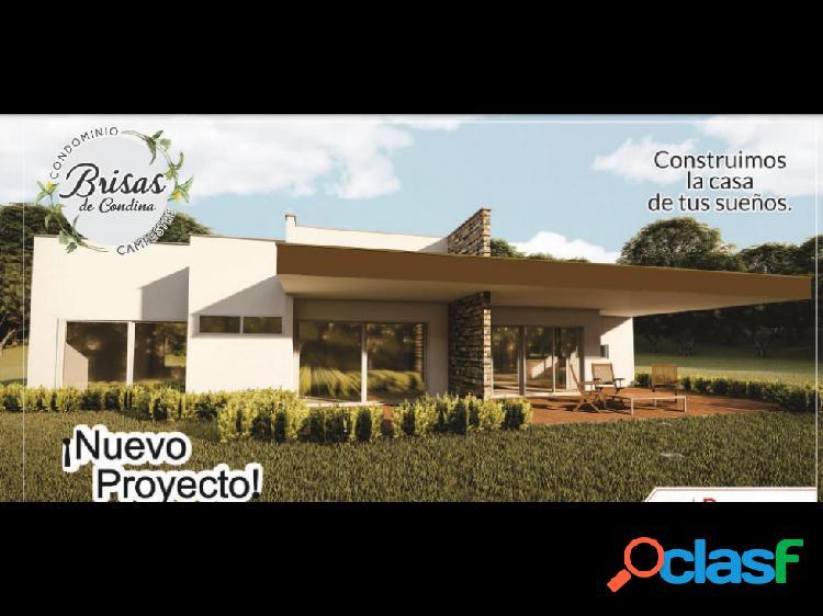 Lotes con casas condominio brisas de condina pereira,colombia