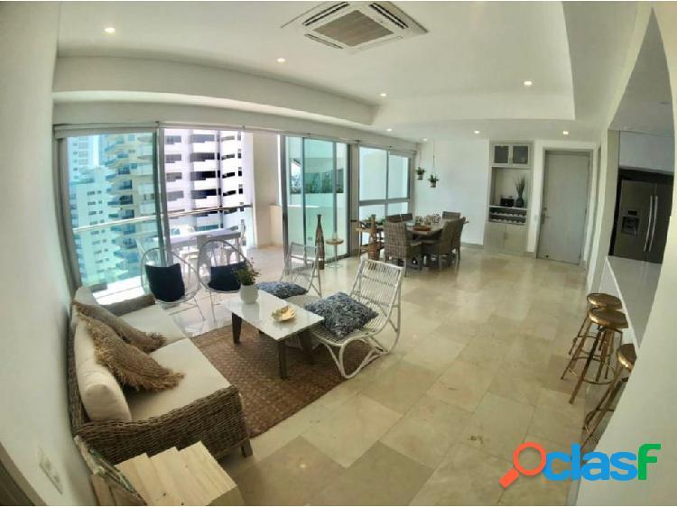 En Venta! Espectacular apartamento en Bocagrande!con vista a la bahía!
