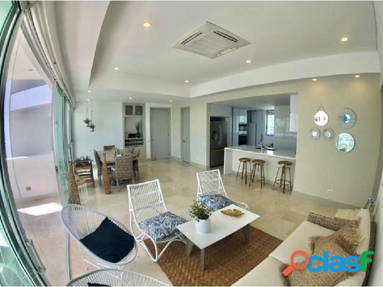 En Venta! Espectacular apartamento en Bocagrande!con vista a la bahía! 2
