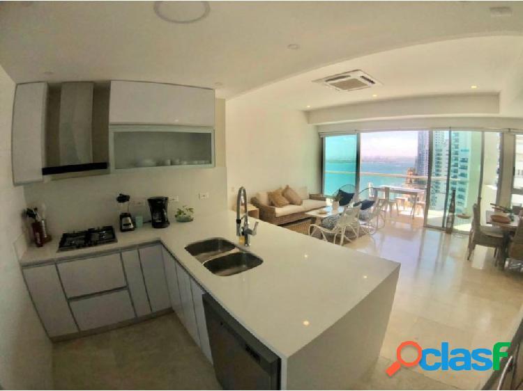 En Venta! Espectacular apartamento en Bocagrande!con vista a la bahía! 3