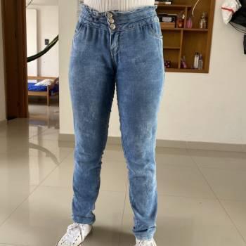 Pantalon jean ancho talla m