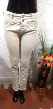 Pantalon drill beige talla 10