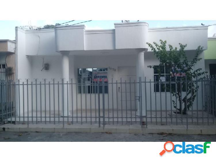 Silva cuesta inmobiliaria arrienda casa en el b/ el eden - montería