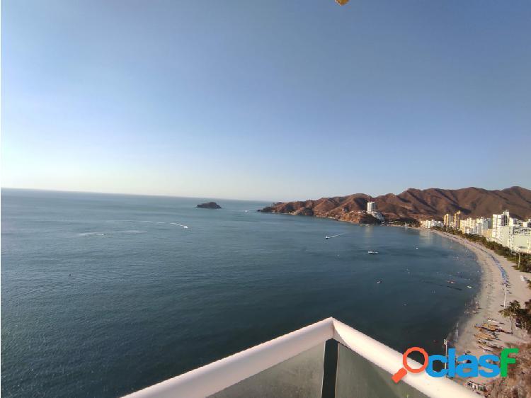 Venta de apartamento con salida directa al mar