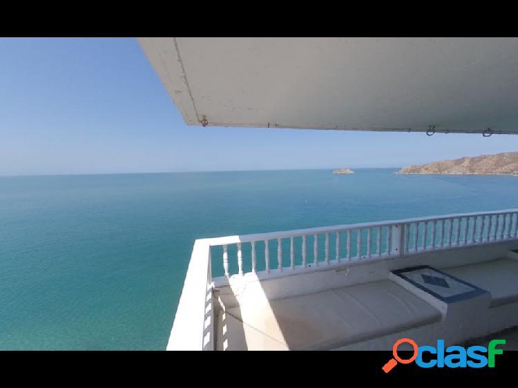 Se arrienda apartamento con vista el mar en el Rodadero, Santa Marta