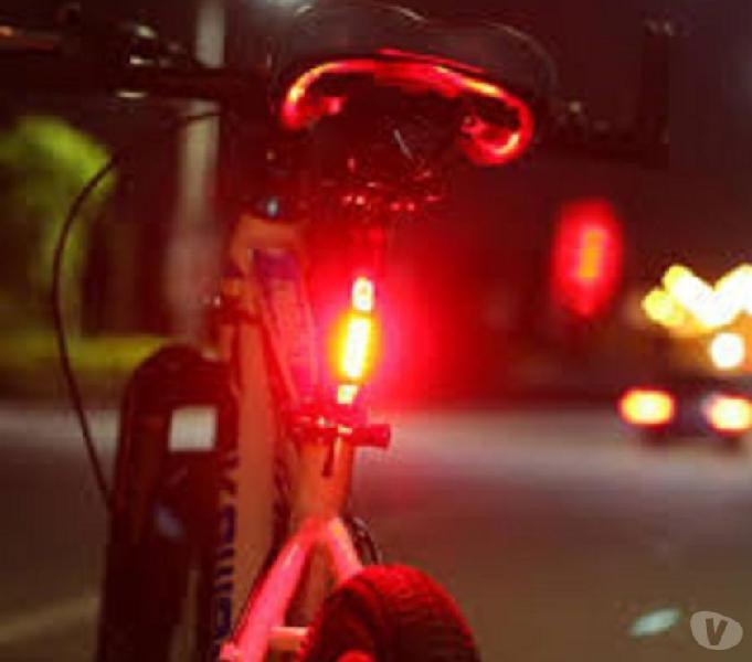 Luz led zacro trasera bicicleta portátil con usb recargable