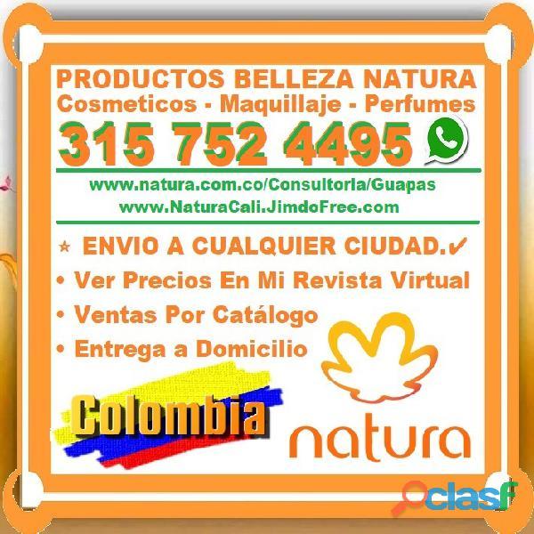 ⭐ consultora natura, productos belleza, cosmeticos, maquillaje, perfumes, para cabello, cuerpo, piel