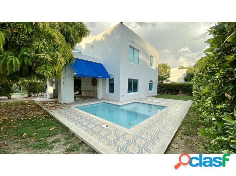 Alquiler casa 4 habitaciones playa bello horizonte santa marta