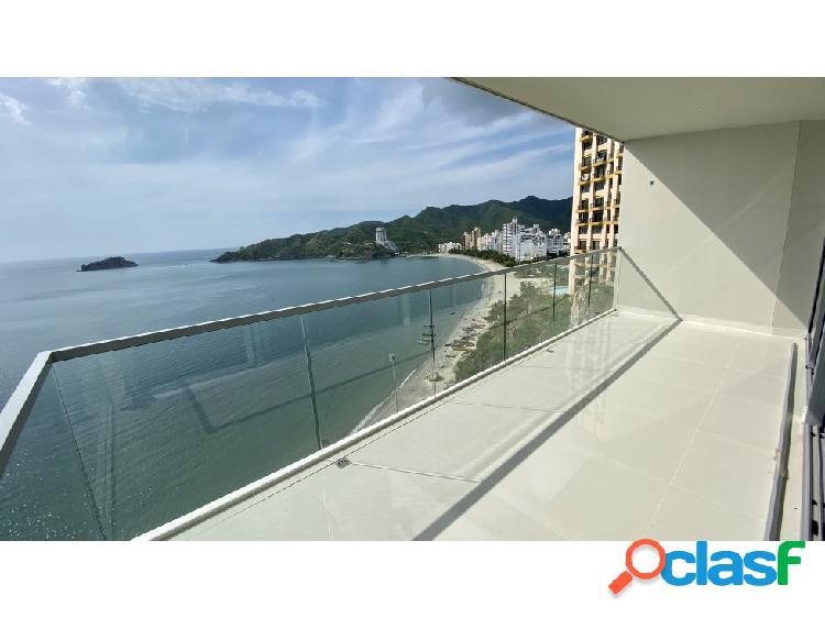 Venta apartamento rodadero sur santa marta con playa