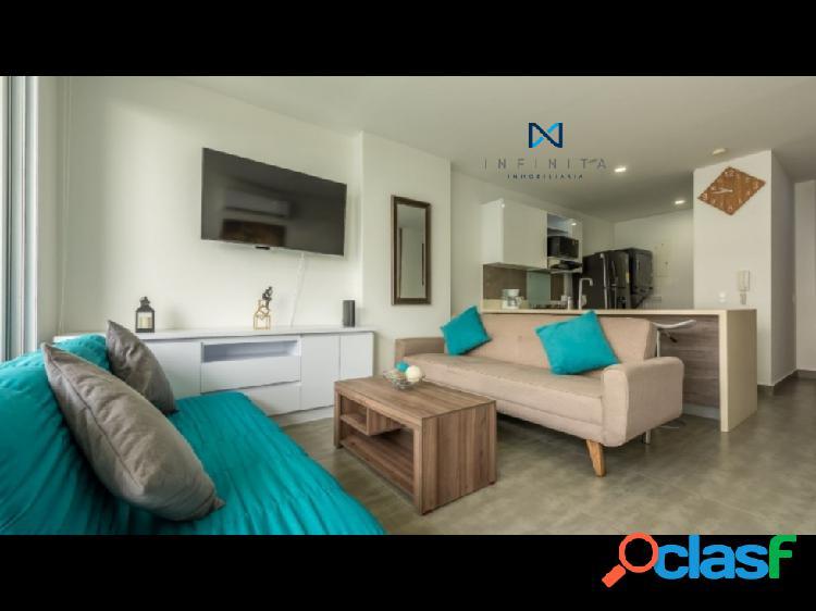 Apartamento en morros moderno con hermosa vista