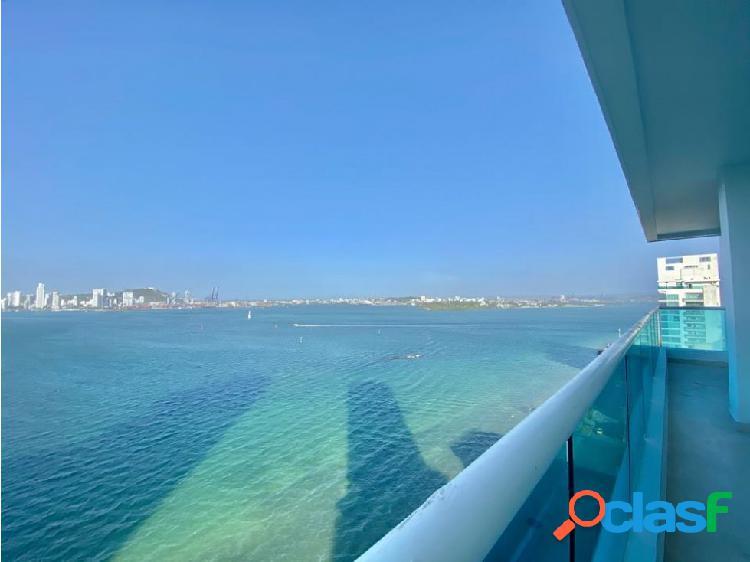 En VENTA! Apartamento en Castillogrande con vista a la Bahía! 1