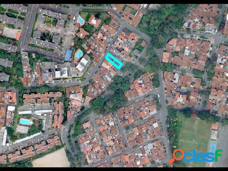 Venta 3 casas lotes, calasanz parte baja, 492 m2, 1.200 millones (c)