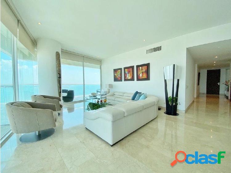 En Venta! Espectacular apartamento frente a la Bahía! 3 alcobas!
