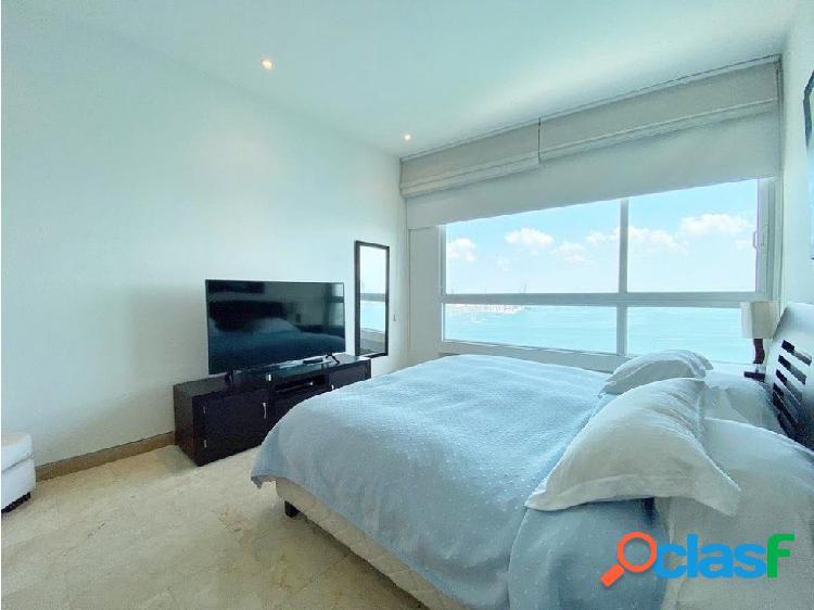 En Venta! Espectacular apartamento frente a la Bahía! 3 alcobas! 3
