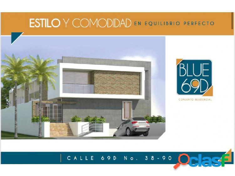 Casas en conjunto barrio delicias