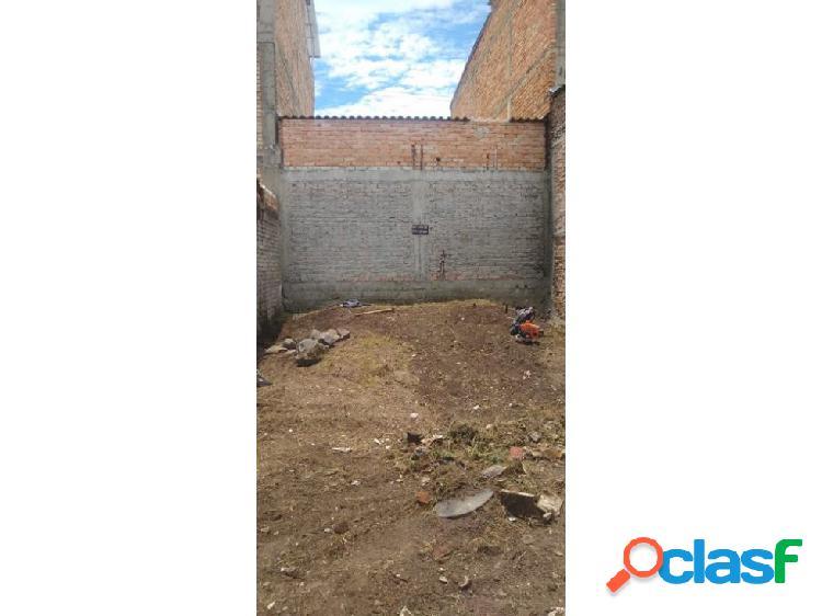 Lote en venta barrio villa del norte - popayán